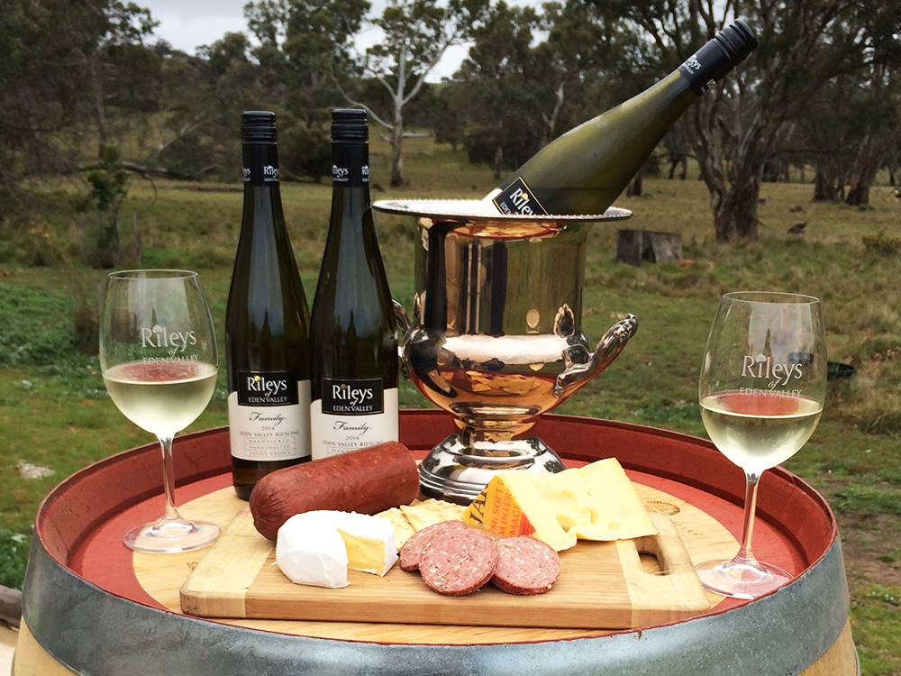 Rileys of Eden Valley Wine Barrel and Platter
