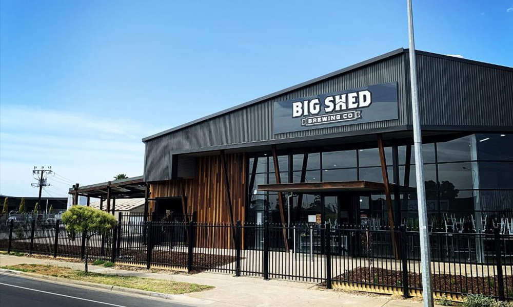 Big Shed Brewery